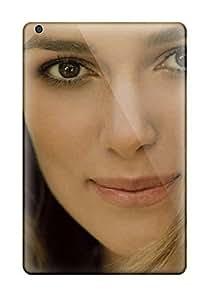 AnnDavidson Scratch-free Phone Case For Ipad Mini/mini 2- Retail Packaging - Keira Knightley Cute Smile