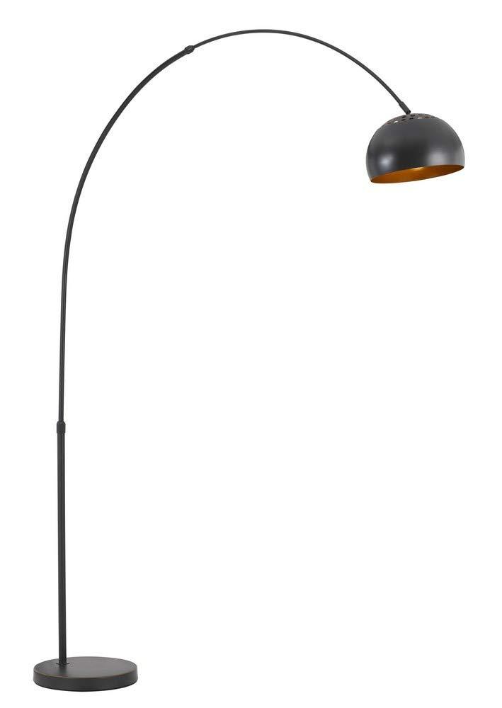 85 in Metal Floor Lamp in Dark Bronze Finish