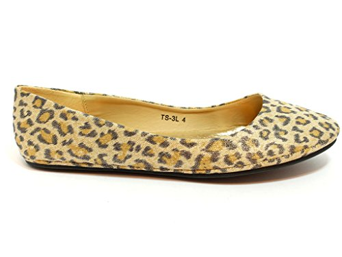 Envy London , Ballet femme - Cheetah Patent