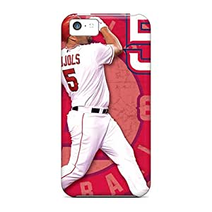 Scratch Resistant Hard Phone Cover For Iphone 5c (yeQ649lGsa) Custom Attractive Los Angeles Angels Skin