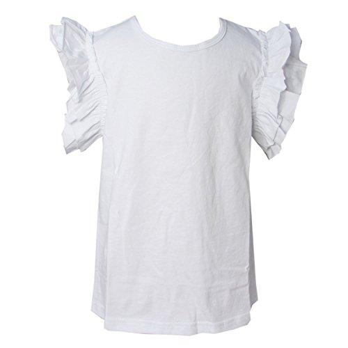 Kirei Sui Girls Classic Flutter Tanks 4T White