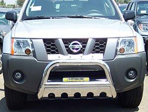 Bar Bull Nissan (Steelcraft 74020B Bull Bar, Black)