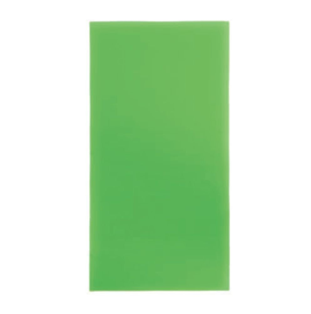 TrendLight 860378Decorative Wax Sheets Set of 10, Wax Sheets for Decorating Candles, 200x 100mm, Apple Green