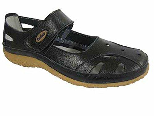Blackcurrant Ladies Sandals Summer Summer Shoes Coolers Range Fruit Leather 8PqwxqdpR