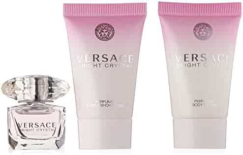 Versace Bright Crystal 3 Piece Miniature Set
