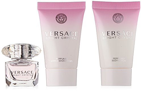 Versace Bright Crystal 3 Piece Miniature - Crystal Versace