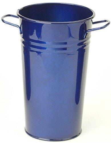 HiT 8300E GB Enameled Galvanized Heavy Gauge Steel Vase, 7