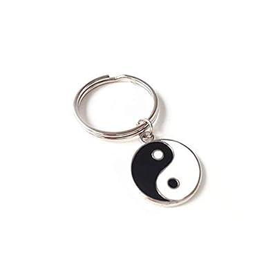 Llavero Yin Yang, diseño de Tai Chi, llavero de yoga ...