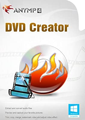 AnyMP4 DVD Creator 1 Year License - The most effective software to converter your video to DVD discs, DVD folders or DVD ISO files [Download]