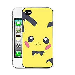 Case88 Designs Pokemon Pichu Protective Snap-on Hard Back Case Cover for Apple iPhone 4 4s