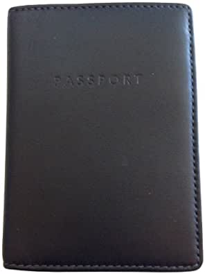 Coach Black Leather Travel Passport Business Case Id Badge Holder F61494