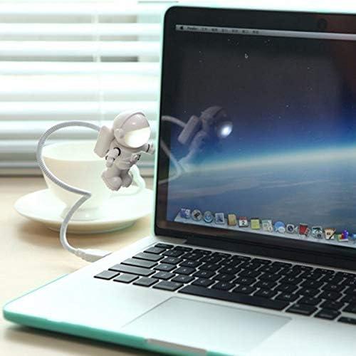 JEZBSY Adjustable Astronaut USB Tube LED Night Light Lamp for MacBook Air Pro Laptop PC JEZBSY