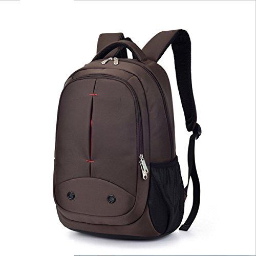 WANG Umhängetasche Männer Computer-tasche Business Casual Bag Reise Wasserdichte 20 * 20 * 46 Cm,Brown brown