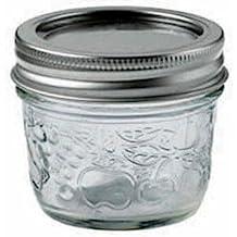 Bernardin 20125 125ml Regular Mouth Mason Jar, Clear - Pack of 12