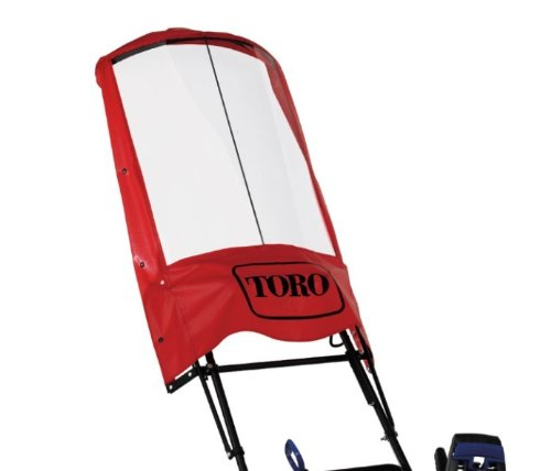 Toro 26 in. W x 13 in. D x 51 in. H, Single-Stage Snow Blower Operator Shield