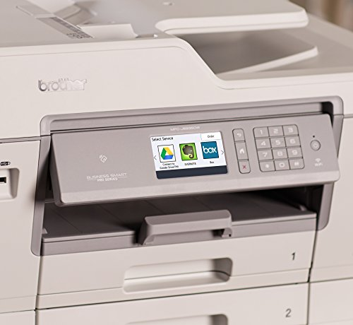 color inkjet printer cost per page - brother mfc j6935dw inkjet all in one color printer