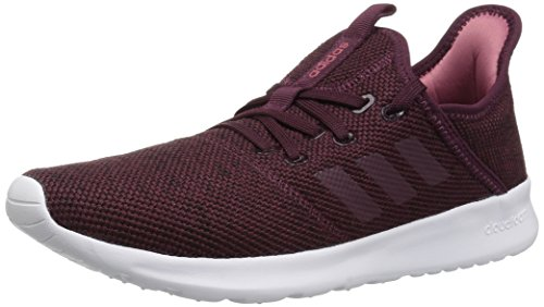 adidas Performance Women's Cloudfoam Pure Running Shoe, Maroon/Maroon/Trace Maroon, 11 M US (Best Shoes To Skate In)