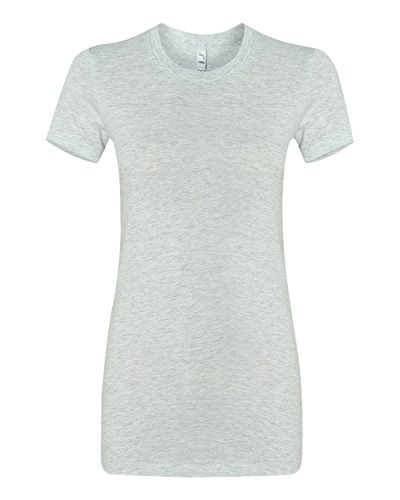 [Bella + Canvas Ladies The Favorite T-Shirt, Small, ASH] (Co Fitted T-shirt)