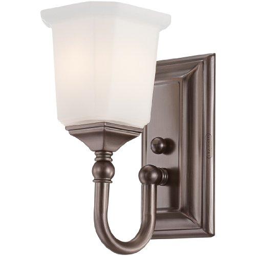 Quoizel NL8601HO Nicholas 1-Light Bath Light, Harbor Bronze ()