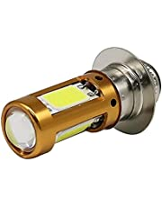 Kaxofang H6M PX15D P15D LED Motorcycle Headlights Hi-Lo Beam Bulb for Motorbike Scooter Moped Head Light Lamp White 1500Lm 12-30V