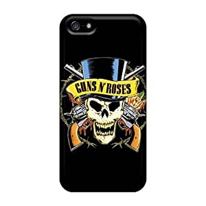 Rosesea Custom Personalized Cases Covers Case For Ipod Touch 4 Cover Strong Protect CasGuns N Roses Design