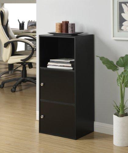 Convenience Concepts Designs2go X Tra Storage 2 Door Cabinet Black Buy Online In Uae
