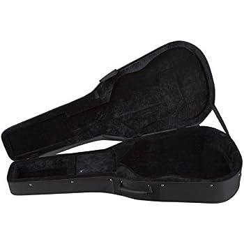 0d863e600f0 Amazon.com: Luna HS DG HCase Tooled Leather Look Black: Musical ...