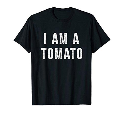 I Am a Tomato Halloween Shirt Easy Costume -