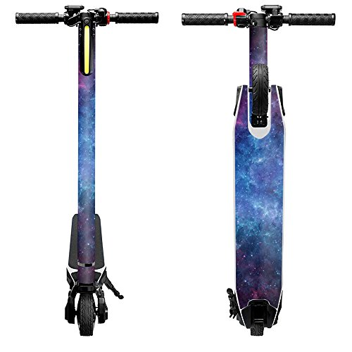 MightySkins Skin Compatible with Swagtron Swagger Powered Electric Scooter wrap Cover Sticker Skins Nebula