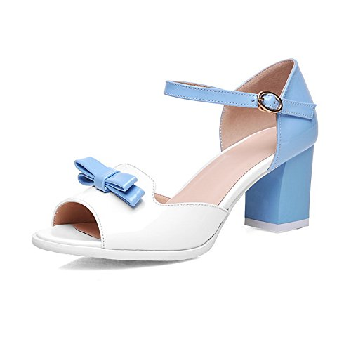 Sandalias vestir mujer de Adee para Azul qFTx6dxwEW