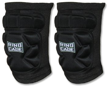 Mixed Martial Arts Cage - Ring to Cage Grappling Slide-fit Knee Pads for MMA, Kickboxing, Stand up-Large