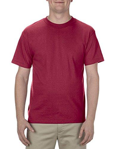 - Alstyle Apparel AAA Men's Classic T-Shirt, Cardinal, 5X-Large