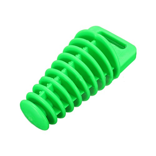 (Silicone Off-road Motorcycle Exhaust Pipe Stopper Blow-down Silencer Plug Exhaust Muffler Waterproof Wash Plug)