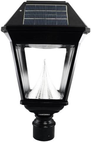 Imperial II Solar Lantern, 3 Fitter, Single Head, Black