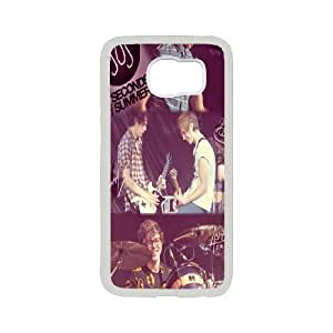 Custom High Quality WUCHAOGUI Phone case 5SOS music band Protective Case For Samsung Galaxy S6 - Case-10