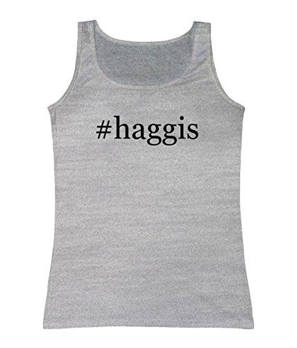 Haggis Heather (#haggis - Women's Hashtag Tank Top, Heather,)