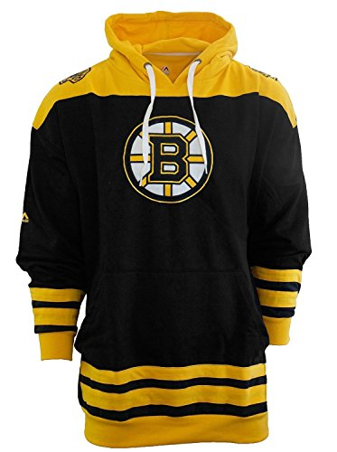 - Majestic Men's Boston Bruins Double Fleece Hoodie, Big and Tall Sizing 2XL