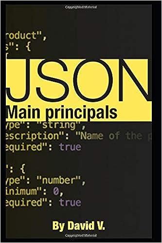 Json: Main principals