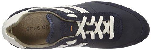 Boss Orange Adrey 10189799 01 - Zapatillas Hombre Azul - Blau (Dark Blue 401)
