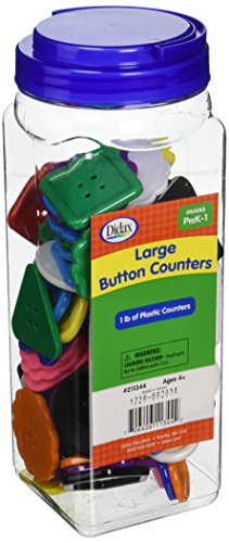 Didax Educational Resources Large Buttons Counters
