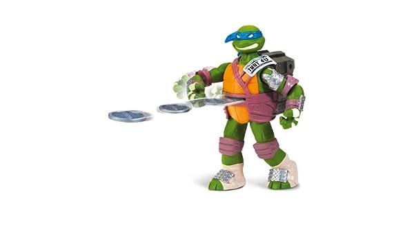 Tortugas Ninja - Figura con Armas: Leonardo, 14 cm (Giochi ...