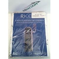 Riccar HEPA Central Vacuum Bags RCB-3 (3 pack) TDSAC63R