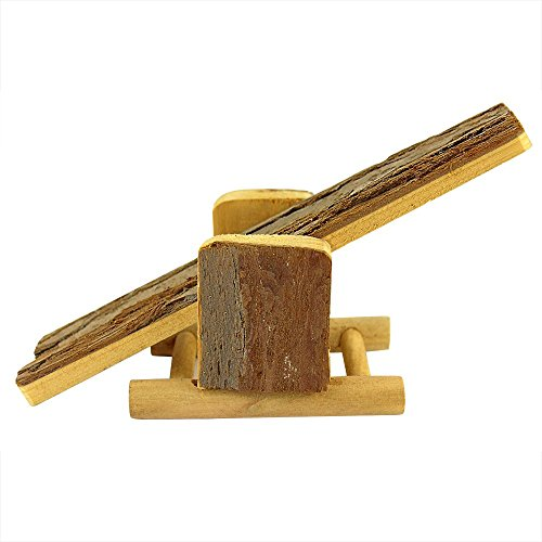 B&P Natural Wood Hamster Toys Little Train No Metal Design Can be Chewed 5.91×6.3×4.33″ 41VlHC1VVTL hamster cages Hamster Cages | Toys | Balls | Treats | Bedding 41VlHC1VVTL