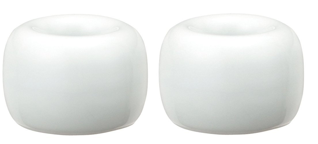 Muji White Porcelain Tooth Brush Stand - White 2197965