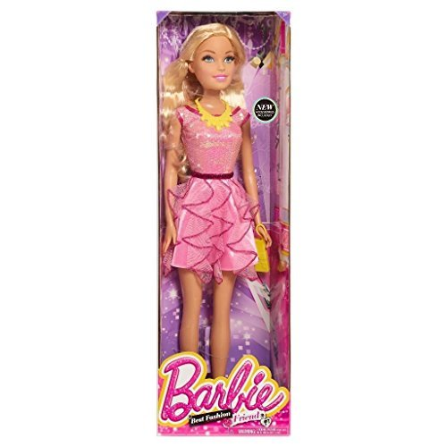 Just Play 83885-Barbie Doll, 28""
