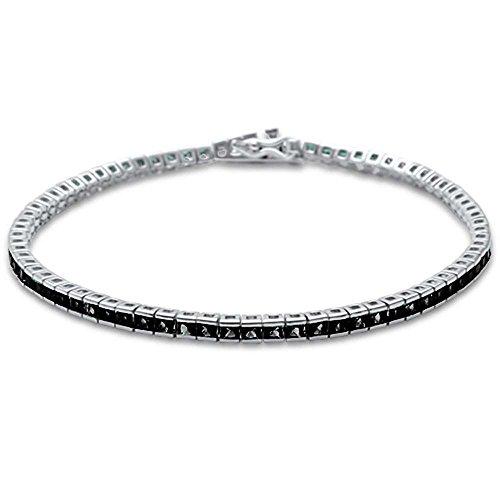 Sterling Silver Princess Bracelets (Elegant 7