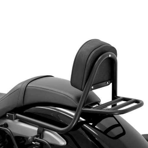Sissy Bar + portapacch iFehling Honda Shadow 750 Black Spirit (VT C2B) 10-16 nero