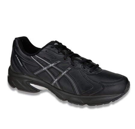 Asics Gel-Blackhawk4 SL, Zapatillas de Deporte Piel Para Mujer Black/Silver/Black