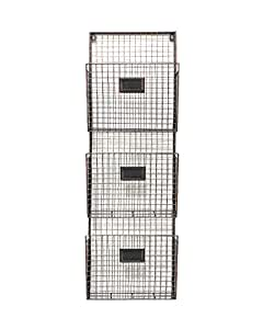 Amazon Com Designstyles Wall Hanging 3 Tier File Holder