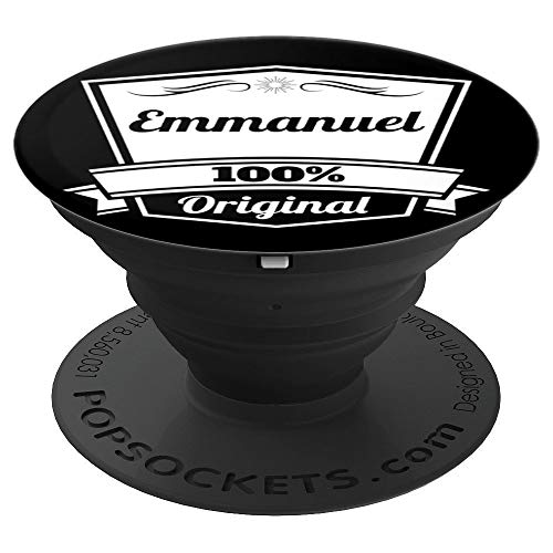 Emmanuel Gift / Emmanuel Personalized Name Birthday PopSockets Grip and Stand for Phones and Tablets